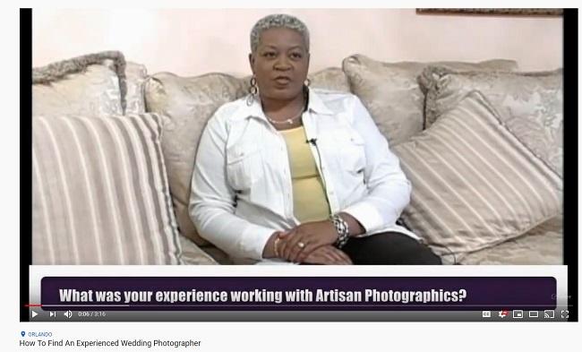 Finding an expereeinced wedding photographer